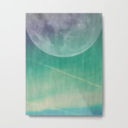 Lunar Radiation Metal Print