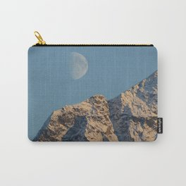 Moon Over Pioneer Peak - II Carry-All Pouch