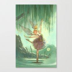 Goblins Drool, Fairies Rule - Willow Sue Canvas Print