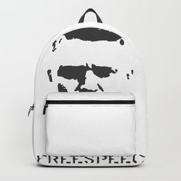 Hashtag Free Speech Free Tommy Britain Political Justice Backpack