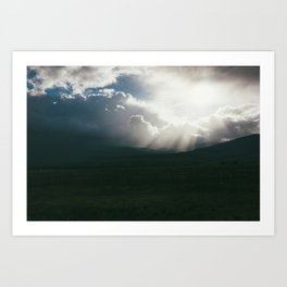 Sawatch Sunset Art Print