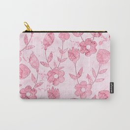 Watercolor Floral II Carry-All Pouch