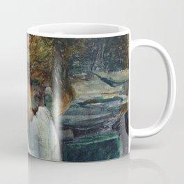 """Henri de Toulouse-Lautrec """"La Rousse in a White Blouse"""" Coffee Mug"""