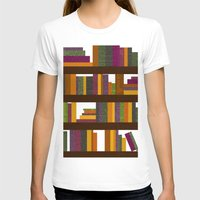 books T-shirts featuring Books by Sara Robish Andrews