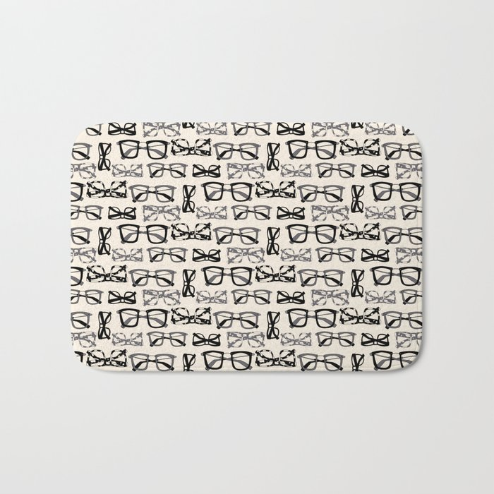 Eyeglasses Bath Mat
