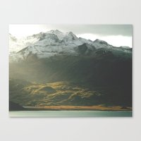 alaska Canvas Prints featuring Alaska by Parissis