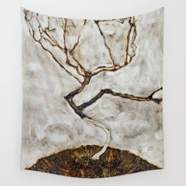 Egon Schiele - Small Tree In Late Autumn Wall Tapestry