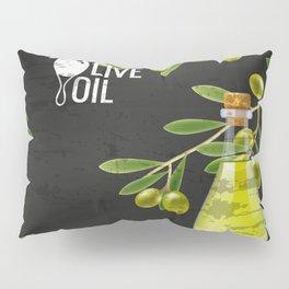Olives retro poster #4 Pillow Sham
