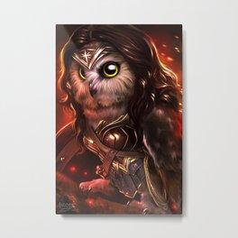 wonder owl Metal Print