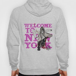 welcome to new york Hoody