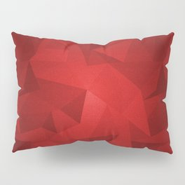 Red Kryptonite Pillow Sham
