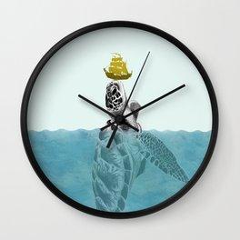 The Giant Sea Turtle Wall Clock