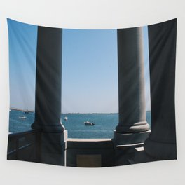Plymouth Boats Wall Tapestry