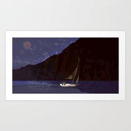 #11 Where No Man Has Gone Before - Sea of Stars Art Print