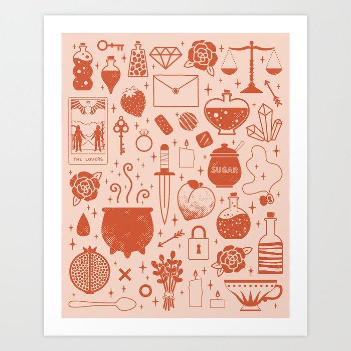 Love Potion: Valentine Kunstdrucke
