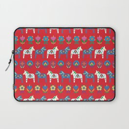 Dala Folk Red Laptop Sleeve