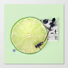 LIME DJ Canvas Print