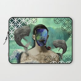 Sinner man with tattoo Laptop Sleeve