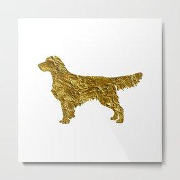 Golden retriever Metal Print