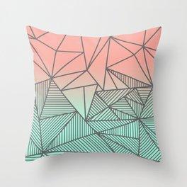 Bodhi Rays Throw Pillow