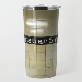 Berlin U-Bahn Memories - Bernauer Straße Travel Mug
