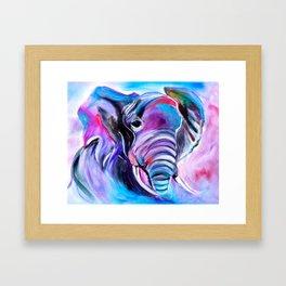 Save the Elephants Framed Art Print