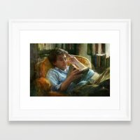 literature Framed Art Prints featuring Literature by John Pacer