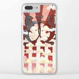 The Conflict II Clear iPhone Case