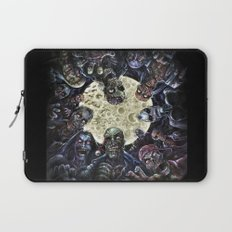 Zombies attack (zombie circle horde) Laptop Sleeve