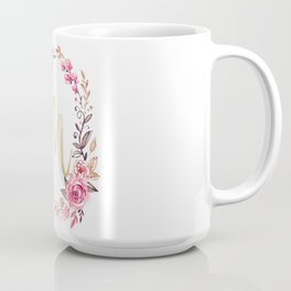 Letter M Monogramed Mu Coffee Mug
