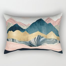 Plush Peaks Rectangular Pillow
