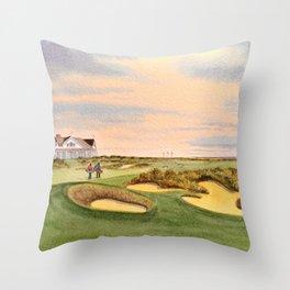 Kiawah Island Ocean Golf Course Throw Pillow