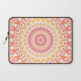 Sunshine in the Summer Mandala Laptop Sleeve