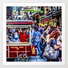 Istanbul Travel Diary - 05 Art Print