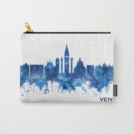 Venice Italy Skyline Blue Carry-All Pouch