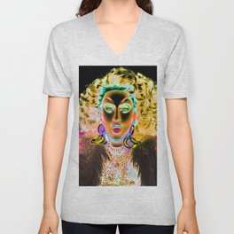 Ru Paul Drag Race Queen Thunderfuck Unisex V-Neck