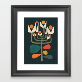 Retro botany Framed Art Print