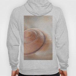 Snail shell, brown emotion Hoody