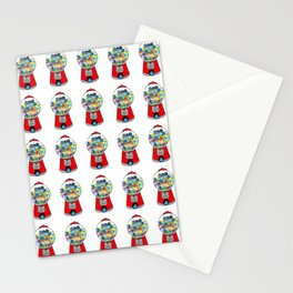 Gumball Machine 1 (Many on White) Stationery Cards