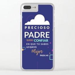 Precioso Padre Clear iPhone Case