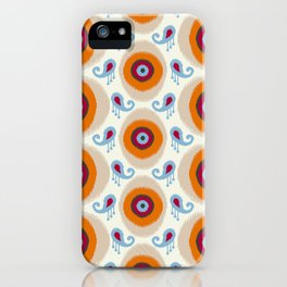 Ikat Medallion iPhone Case