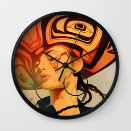 Seattle Detail Wall Clock