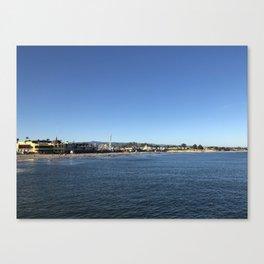 Pier Views Canvas Print