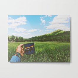 Cheers • Appalachian Trail Metal Print