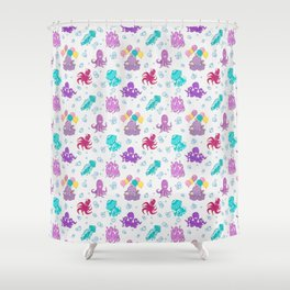 UNDER SEA PARTY Shower Curtain