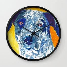 Party Dog Wall Clock
