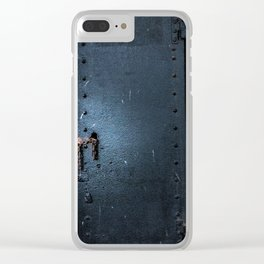 Locked Away Clear iPhone Case