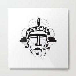 King Snake Metal Print