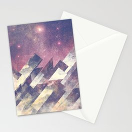 The stars are calling me Stationery Cards