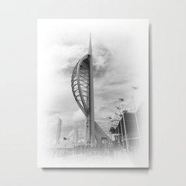 Spinnaker Tower Metal Print